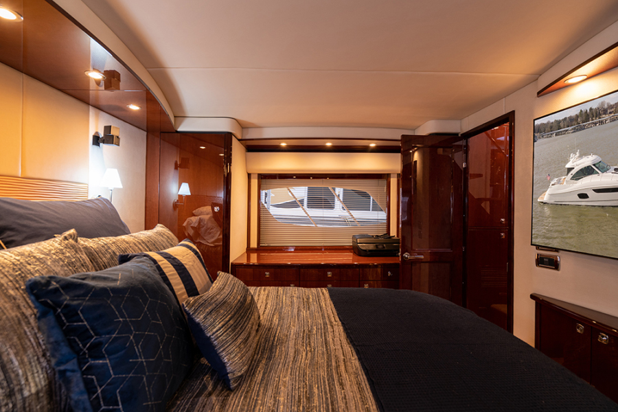 Master stateroom view 2