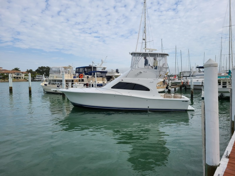 2005 36 Luhrs Convertible - Tight Lines - Profile