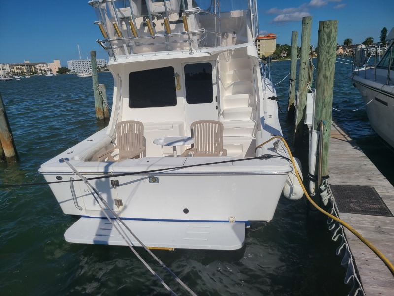 2005 36 Luhrs Convertible - Tight Lines - Transom