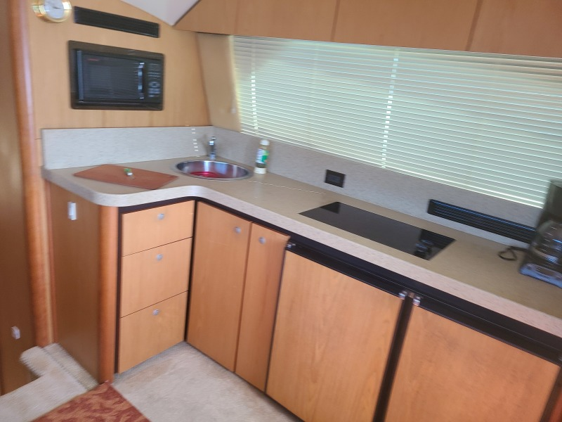 2005 36 Luhrs Convertible - Tight Lines - Galley