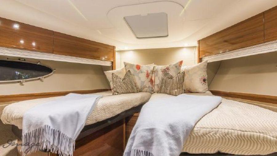 2014 Princess V48 2014 - VIP Stateroom - Forward with Split Berth