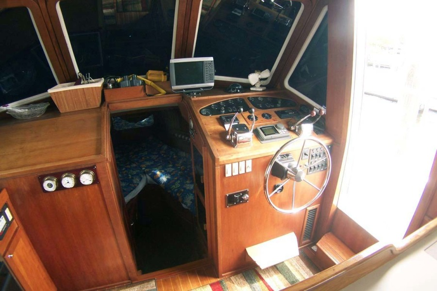 Lower Helm To Starboard