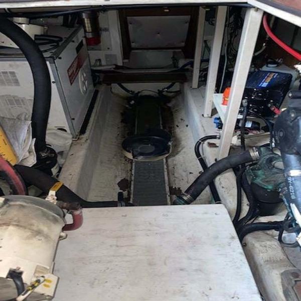 Engine Room Forward   Genset