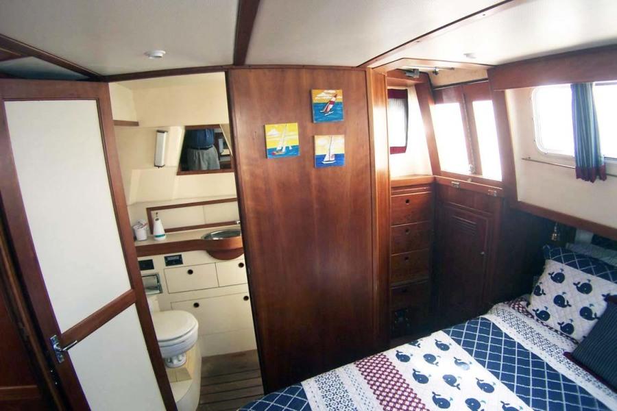 Master Stateroom To Starboard   En Suite Head