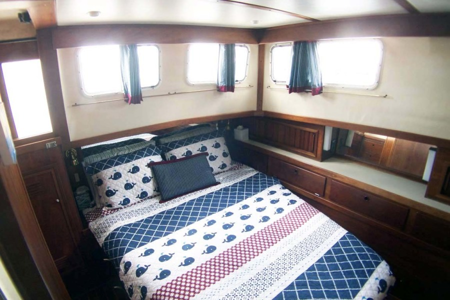Master Stateroom To Aft Port   Lots Of Storage