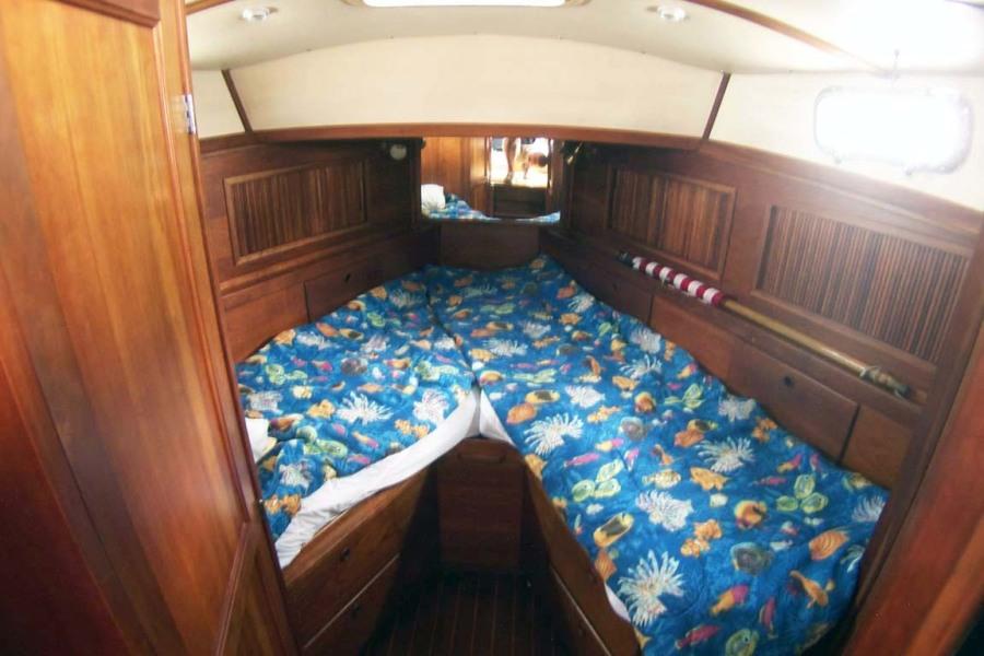 V-Berth In Bow Cabin