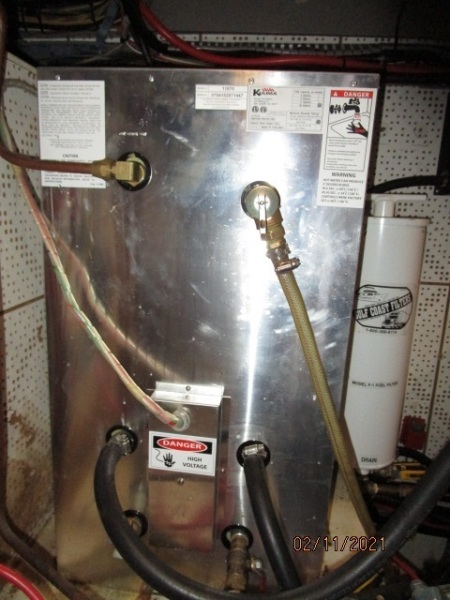 49' DeFever water heater