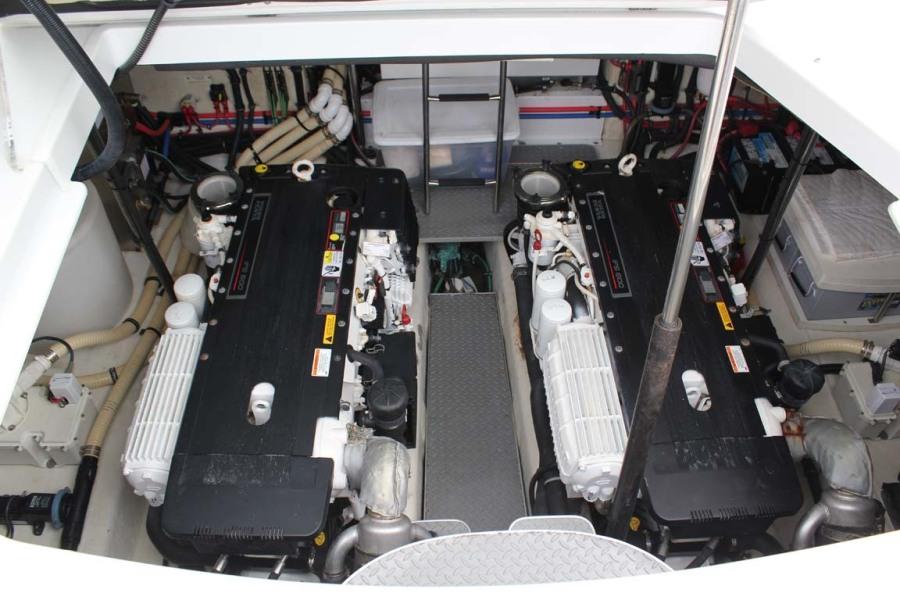 Twin Volvo Diesels
