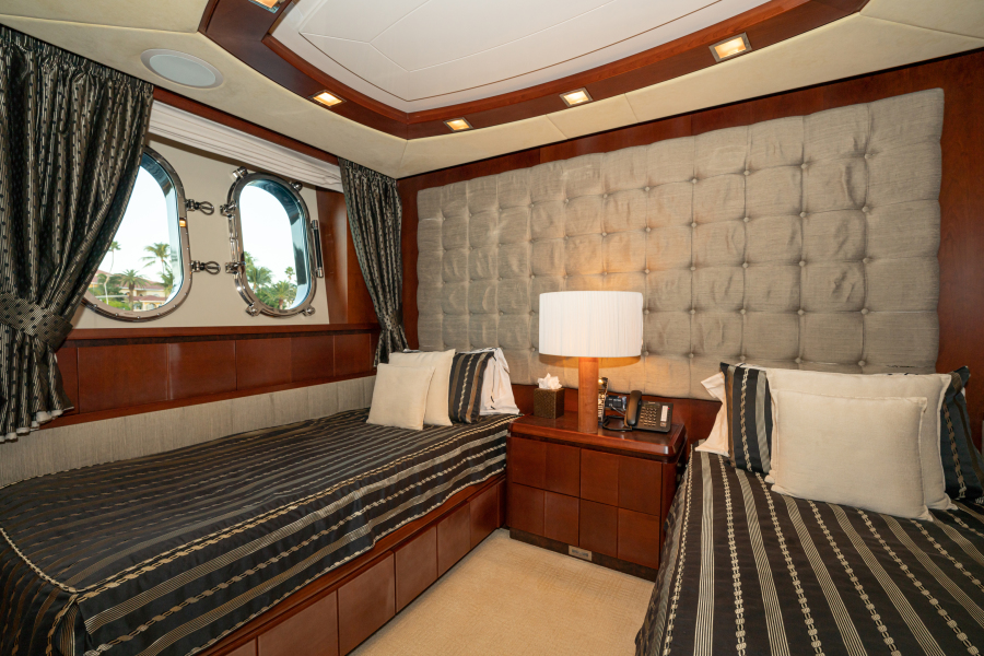 Twin Guest Stateroom (Port side)