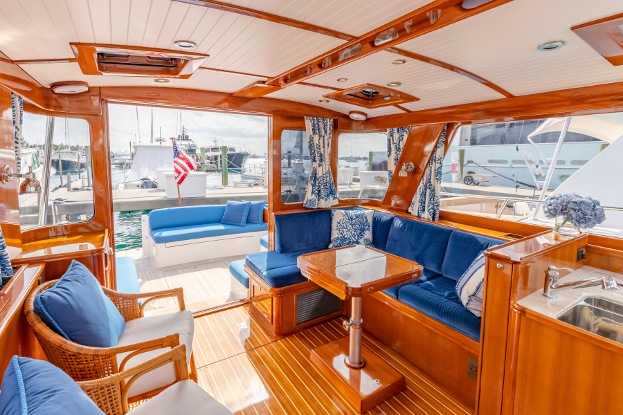 EAST BY SOUTH yacht for sale