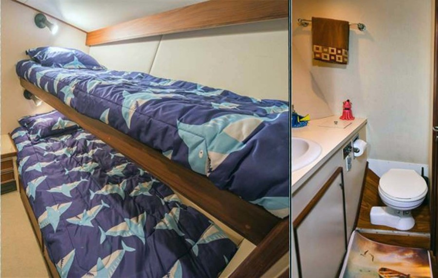 Portside Bunk Stateroom And En Suite Head