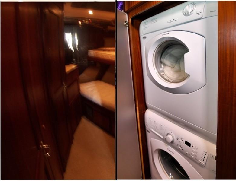 Forward Stateroom & Washer Dryer
