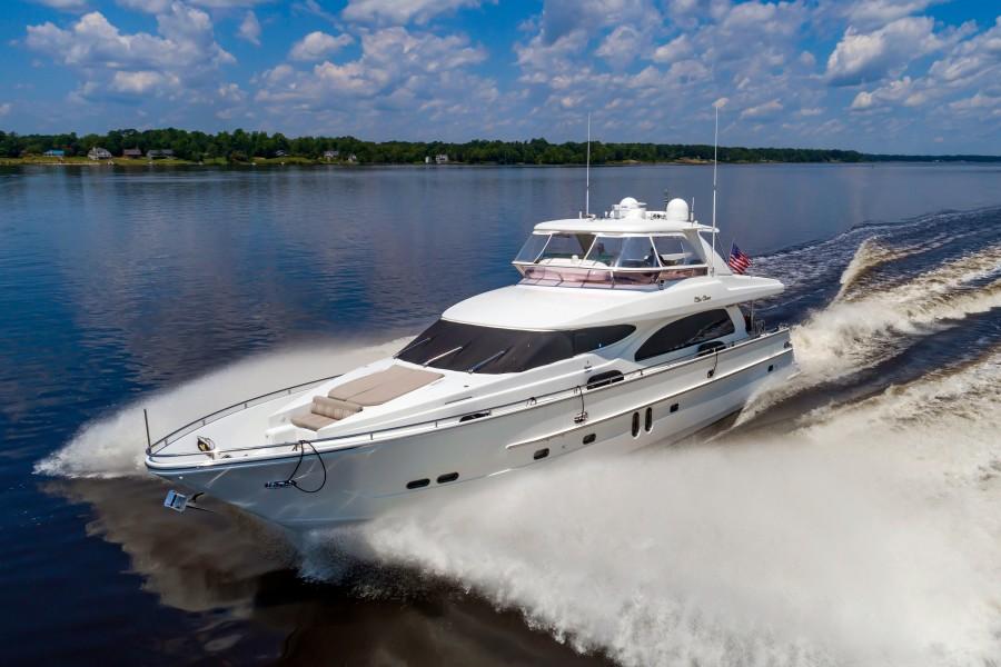 Horizon-76 Motoryacht 2006-Ella Clare Beaufort-North Carolina-United States-78HorizonEllaClare001-1711134-featured