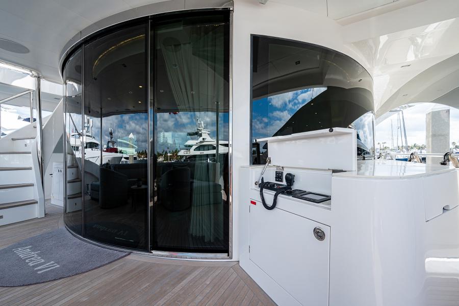 Aft Deck Entrance to Salon