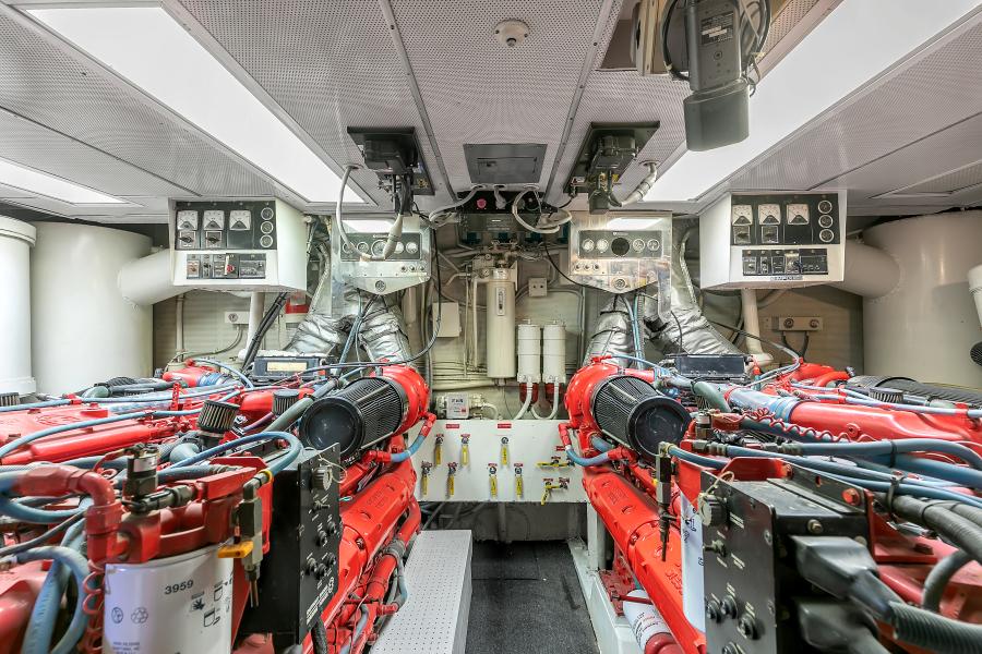 Broward 104 - Pathway - Engine Room