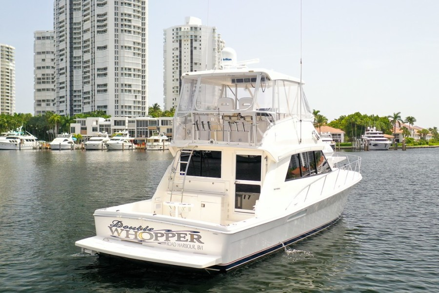 2001 Riviera 43 CNV - Starboard Side