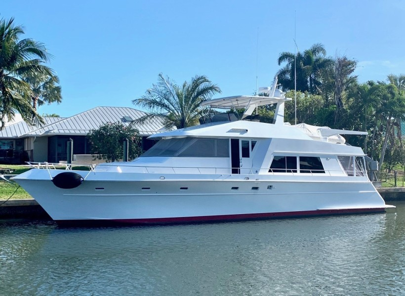 Huckins-Motoryacht 1996-CORTINA West Palm Beach-Florida-United States-CORTINA-1639726-featured