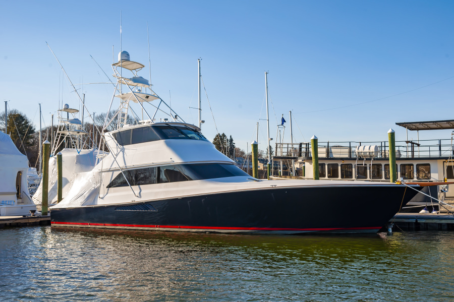 Viking-65 Enclosed Bridge 2001-Charlie East Greenwich-Rhode Island-United States-1639891-featured