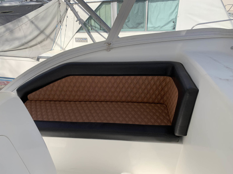 Port Seat - New Upholstery and Cushions