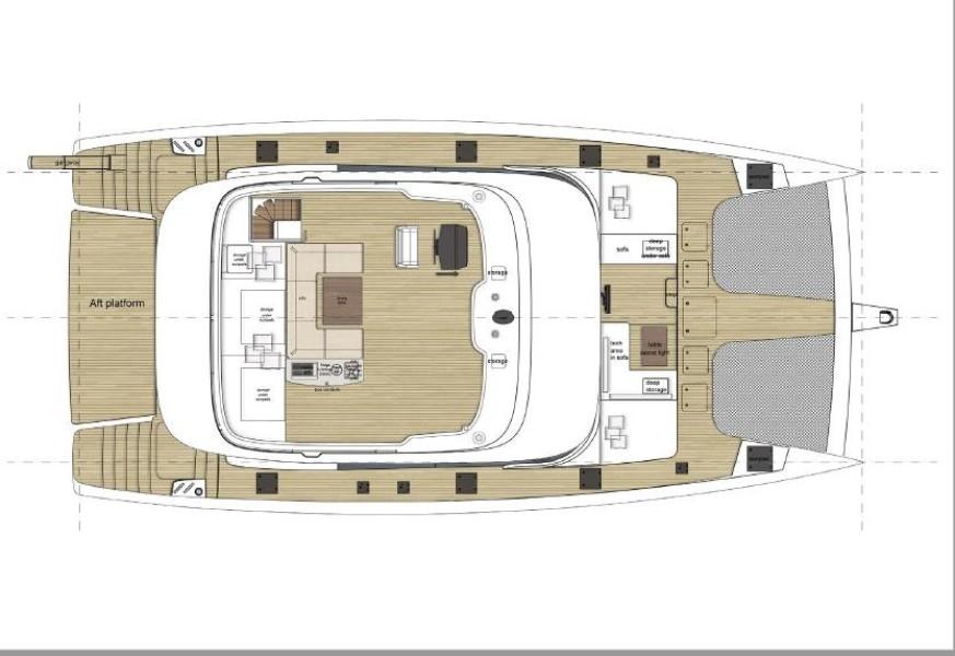 Flybridge Deck layout