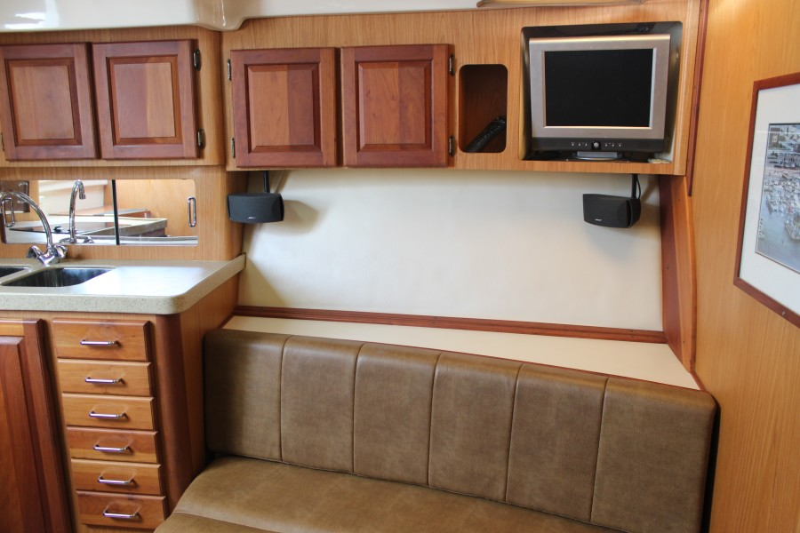 2006 Luhrs 380 Open - Fuelish Fun - Galley / Dinette