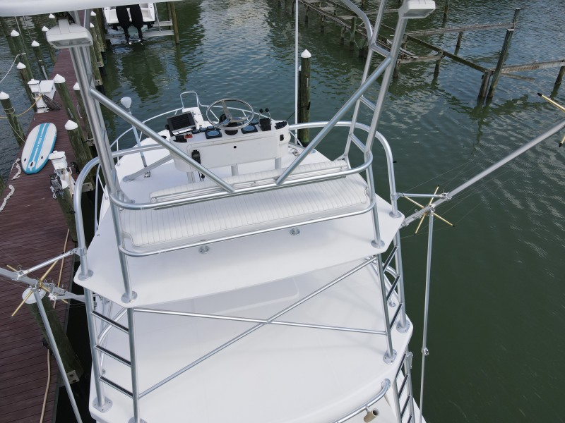 2006 Luhrs 380 Open - Fuelish Fun - Tower