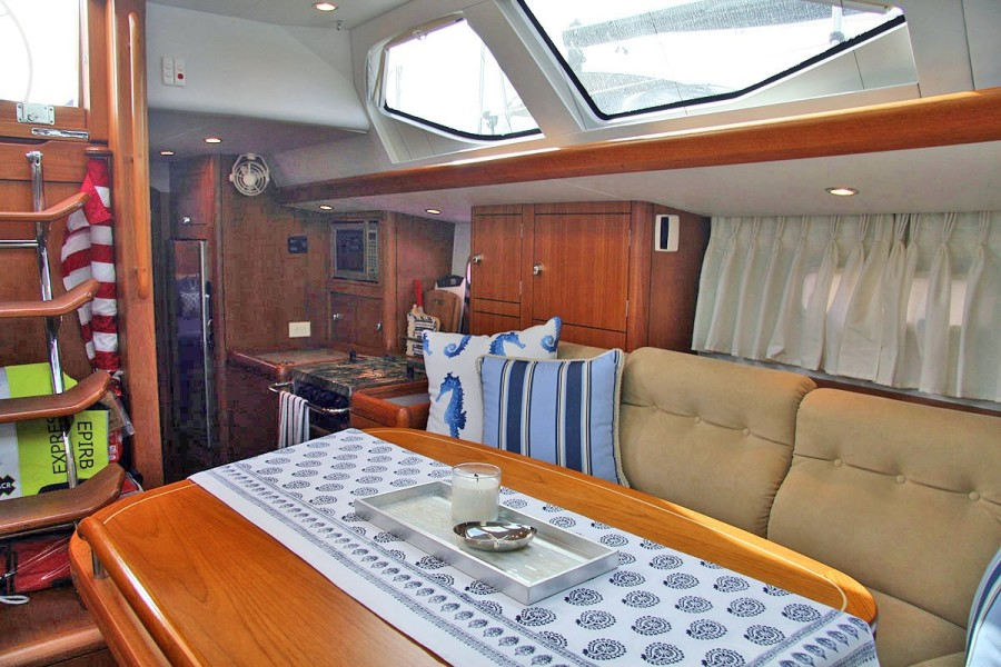 Deck Saloon, Looking Aft
