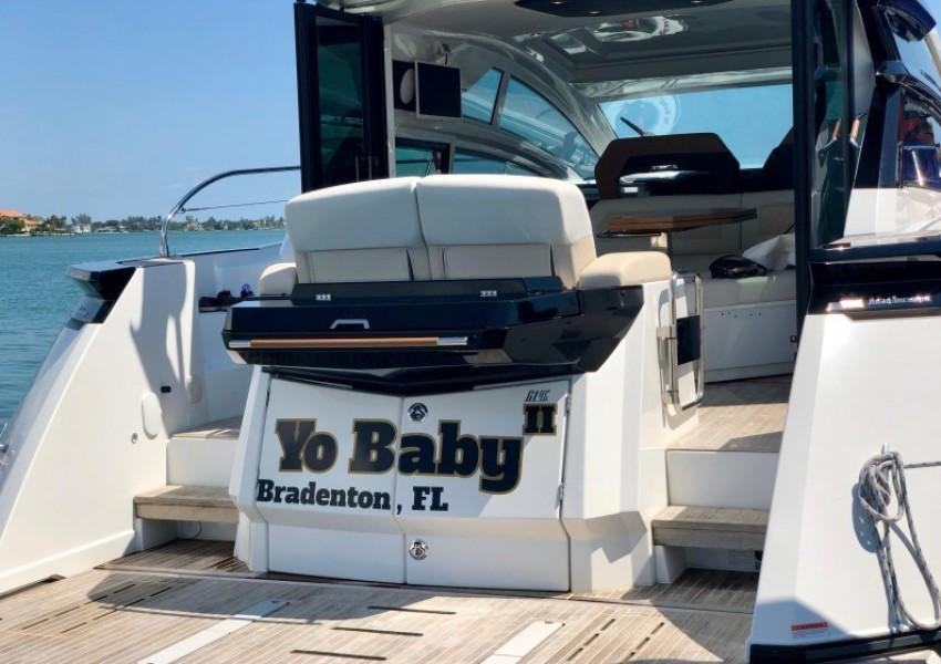 2017 Beneteau 46 Gran Turismo - Yo Baby II - Transom
