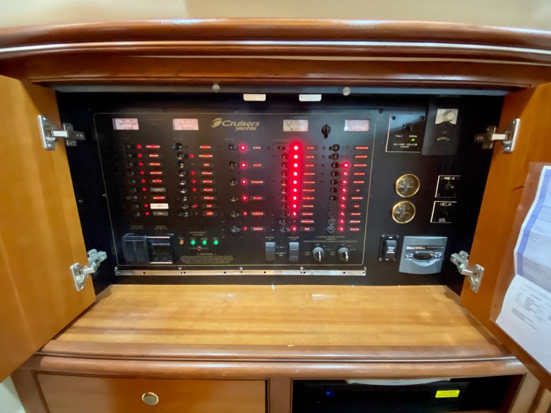 2006 Cruisers 455 Motor Yacht - Nirvana South - Electrical Panel