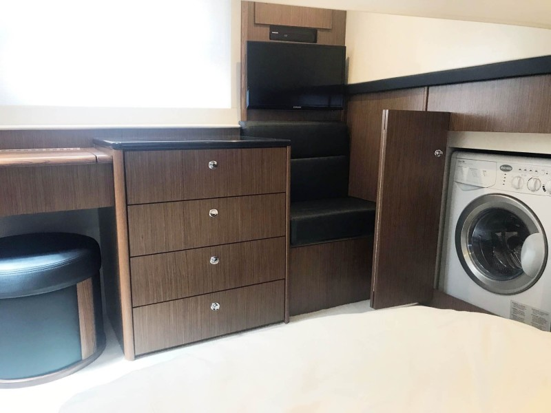 Guest Stateroom Storage and Laundry
