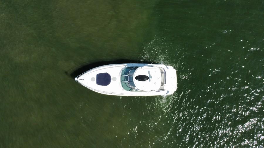2007 42 Cruisers Express - Got Tubes II - Aerial Profile