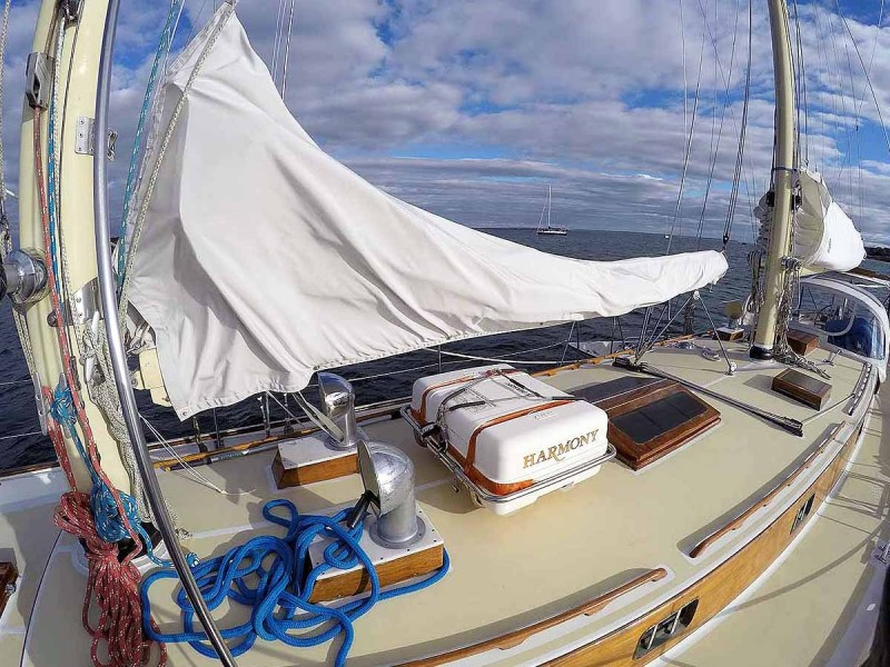 Foresail Boom