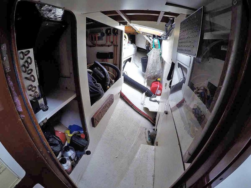Starboard Utility Looking Aft