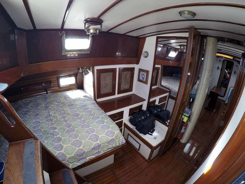 Aft Cabin, Looking Fwd.