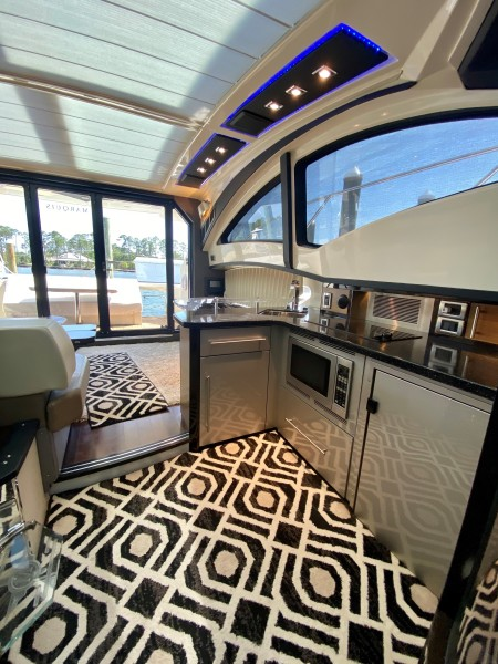 2008 Marquis 40 SC  Galley