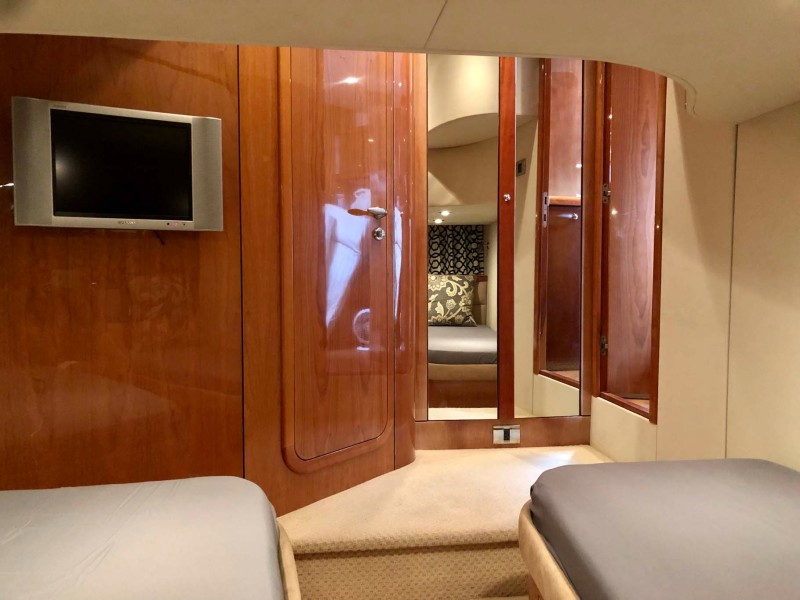 Aft Guest Stateroom Closet and Head