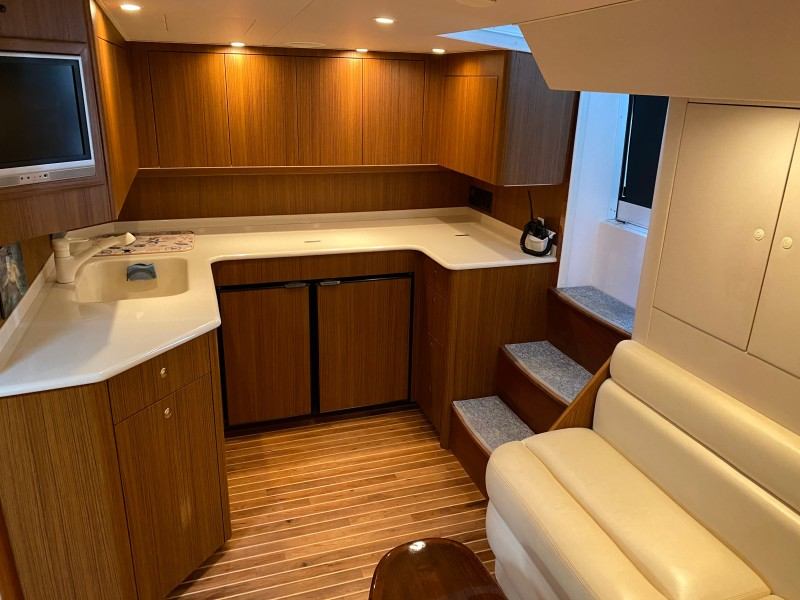 2006 Viking 45 Open- Galley 2