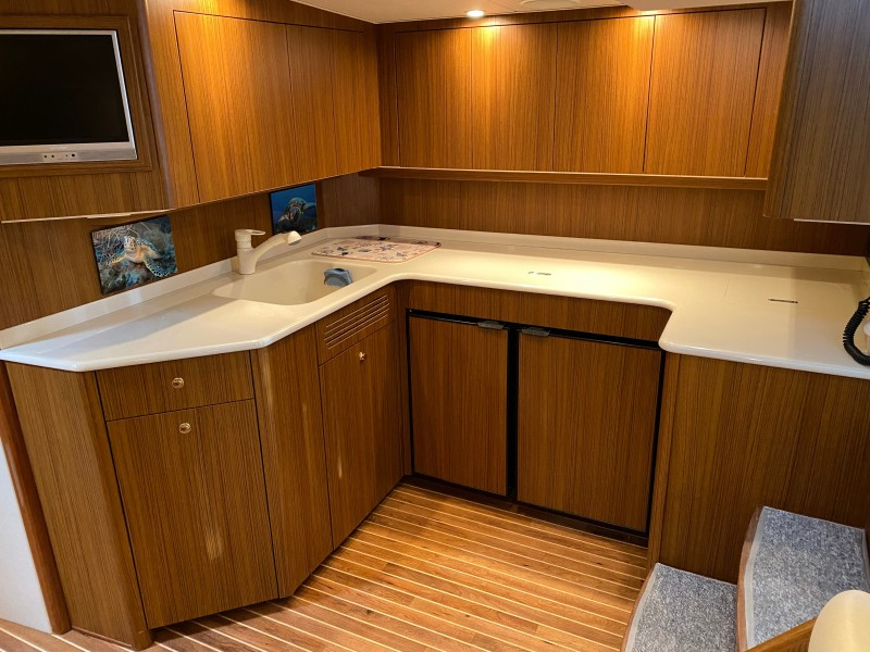 2006 Viking 45 Open- Galley 1