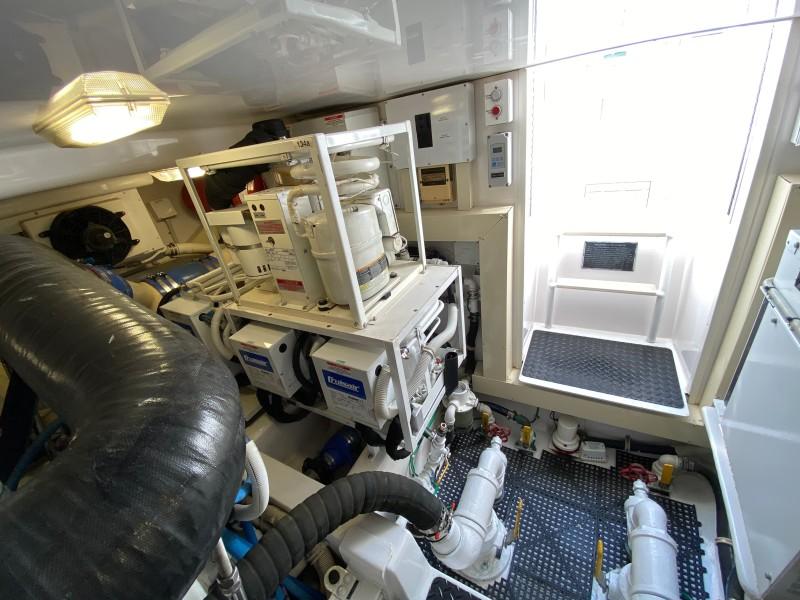 2006 Viking 45 Open- Engine Room 3