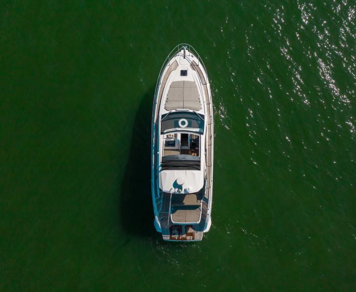 2018 43 Azimut Atlantis - We Got This - Aerial Profile