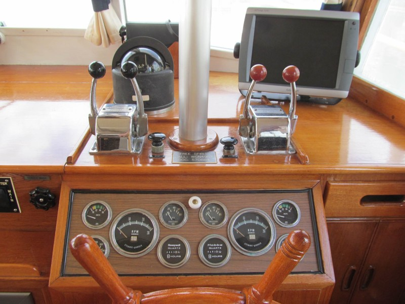 Lower Helm Gauges And Controls
