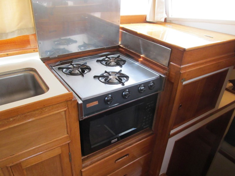 Galley Stove Top
