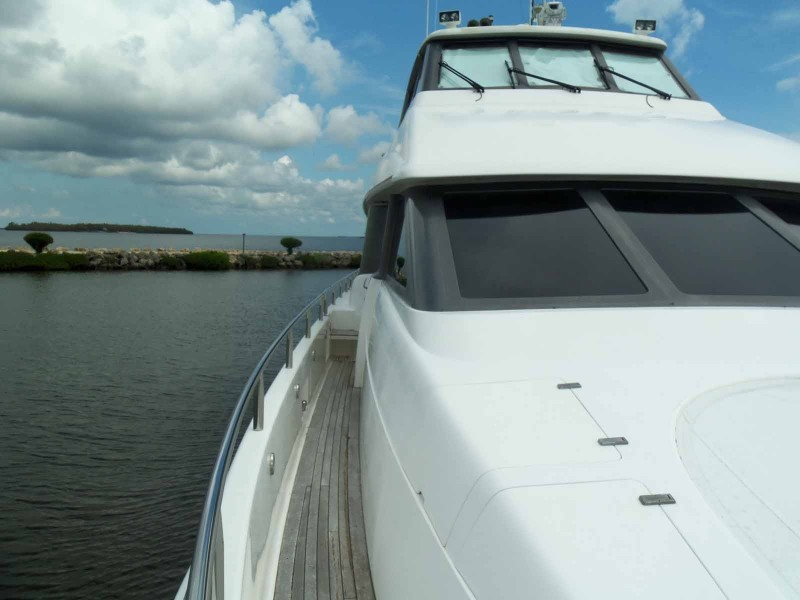 Side Deck To Galley