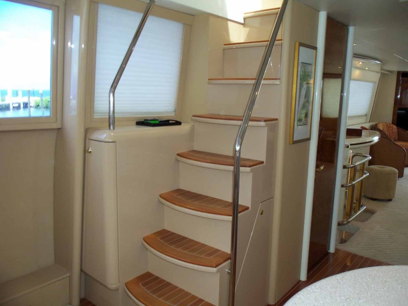 Skylounge Steps In Galley