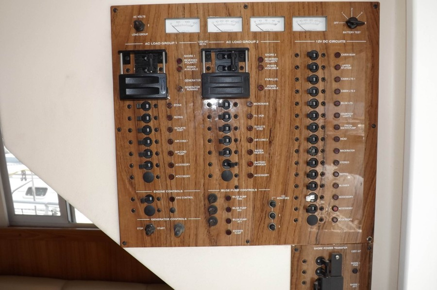 Complete ACDC Breaker And Switch Panel
