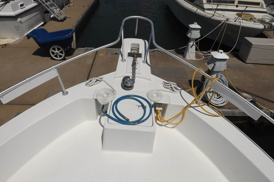 Windlass, Foredeck And Electrical Power Cords