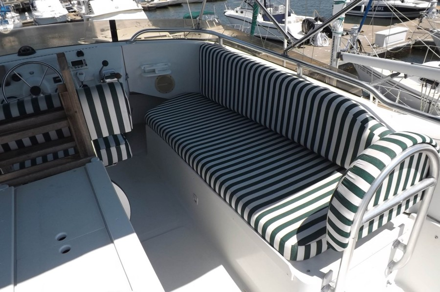 Starboard Side Bench Seating