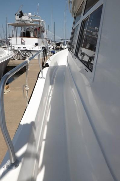 Port Side Deck Looking Forward