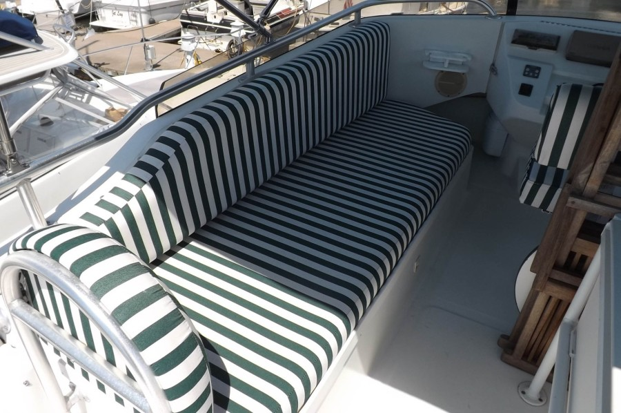 Port Side Bench Seating