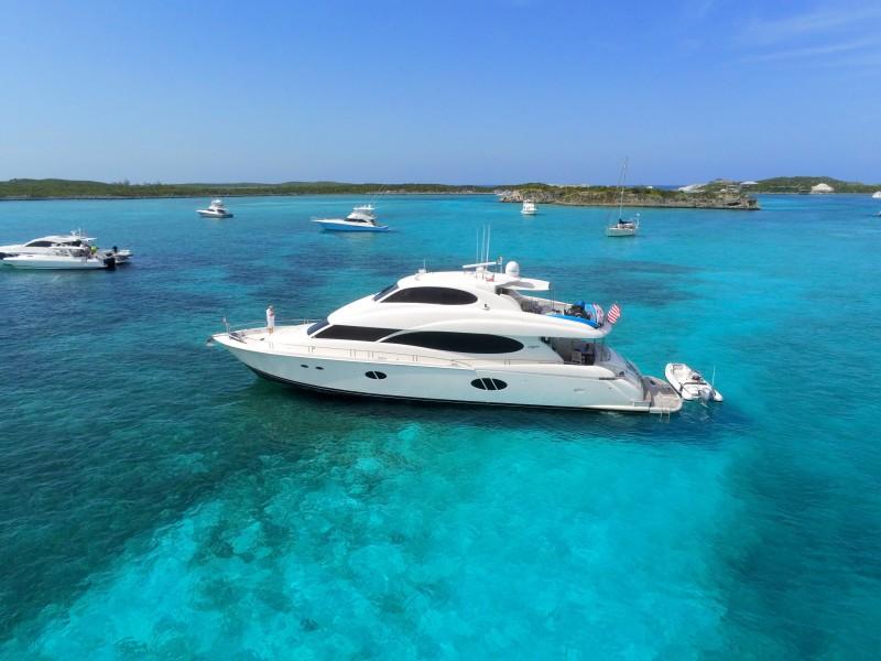 Lazzara-Motor Yachts 2009-LA BALSITA Miami-Florida-United States-1672606-featured